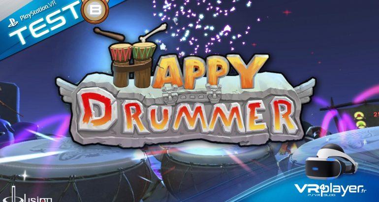 Happy Drummer PSVR le test vrplayer.fr