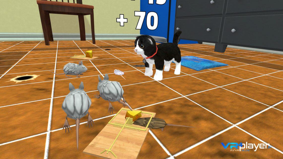 Konrad the kitten VR4player