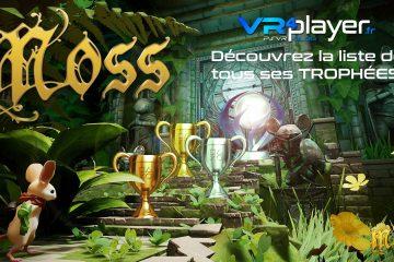 PlayStation VR : Moss sur PSVR, la liste de tous ses trophées