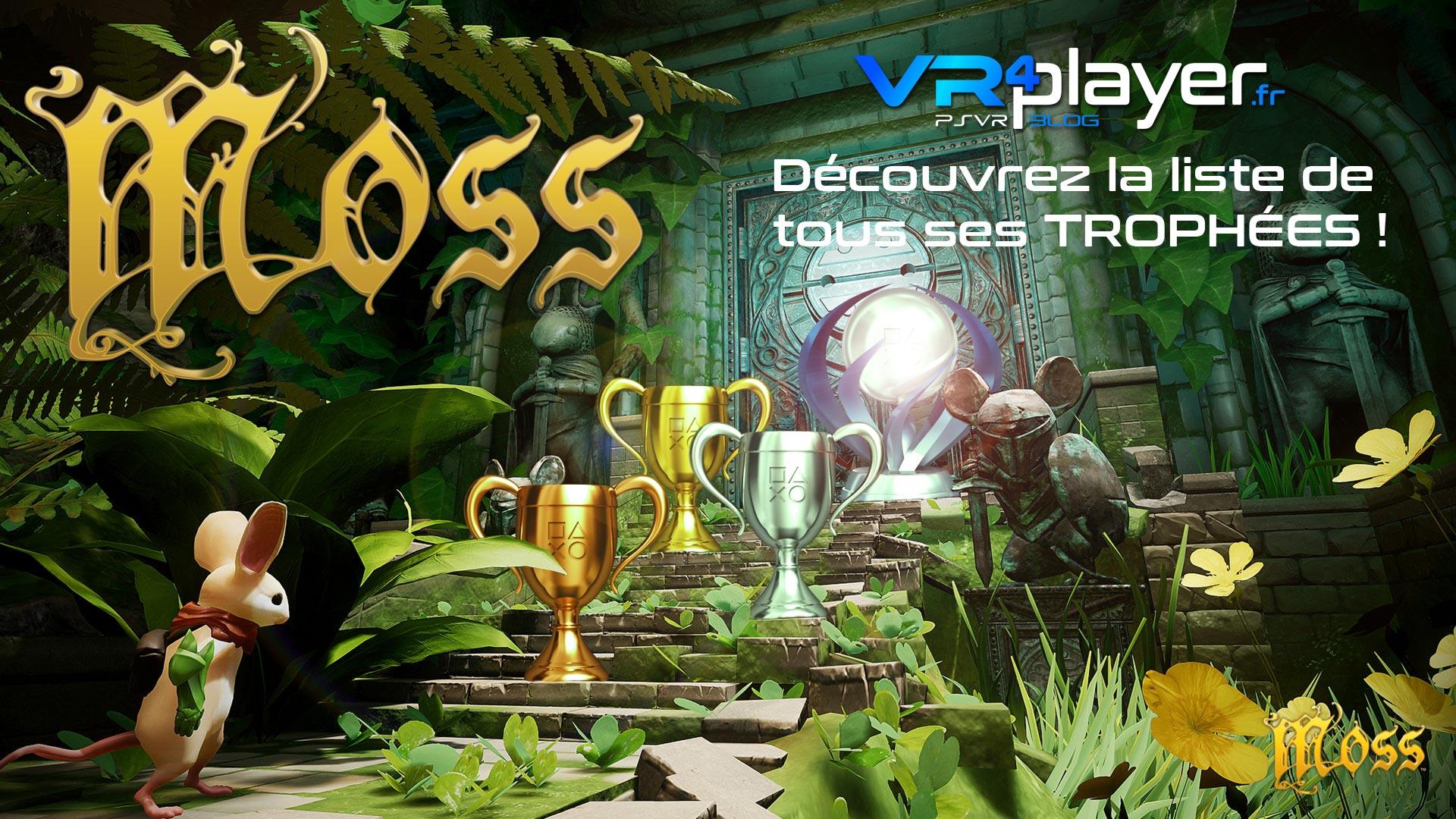 Moss, la liste de ses trophées sur PSVR vrplayer.fr