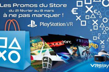 PlayStation VR : les promos à ne pas manquer sur le Store PSVR