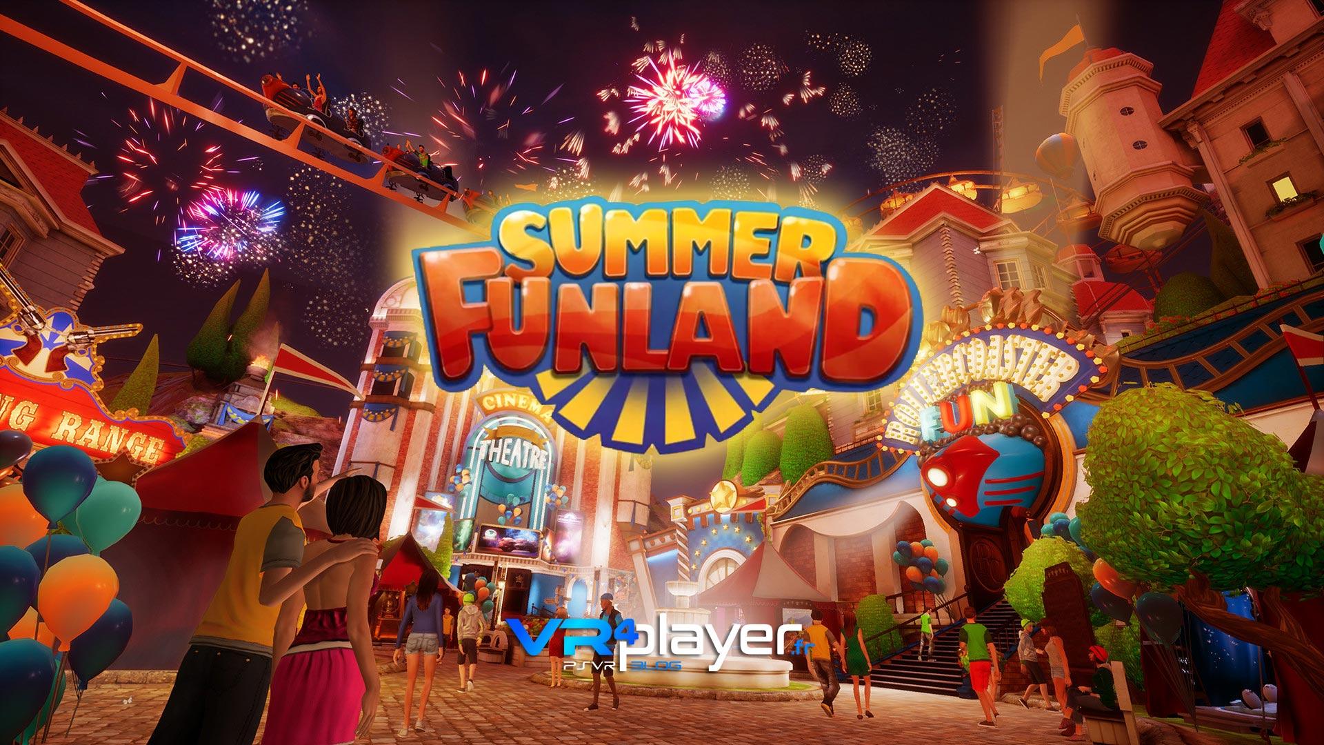 Summer Funland PSVR vrplayer.fr