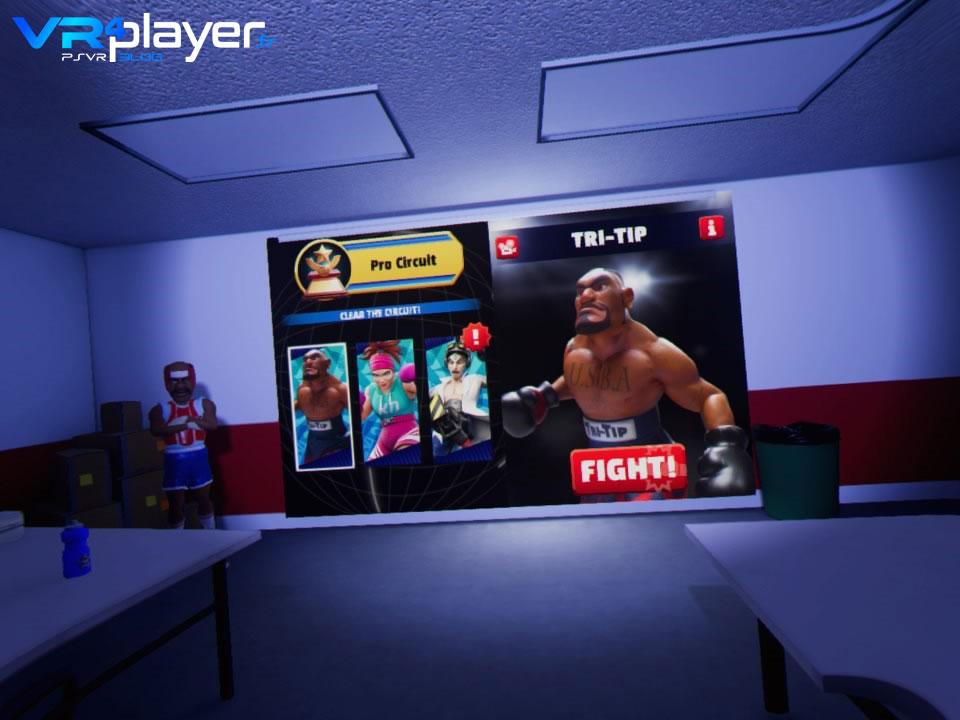 Knockout League sur PSVR