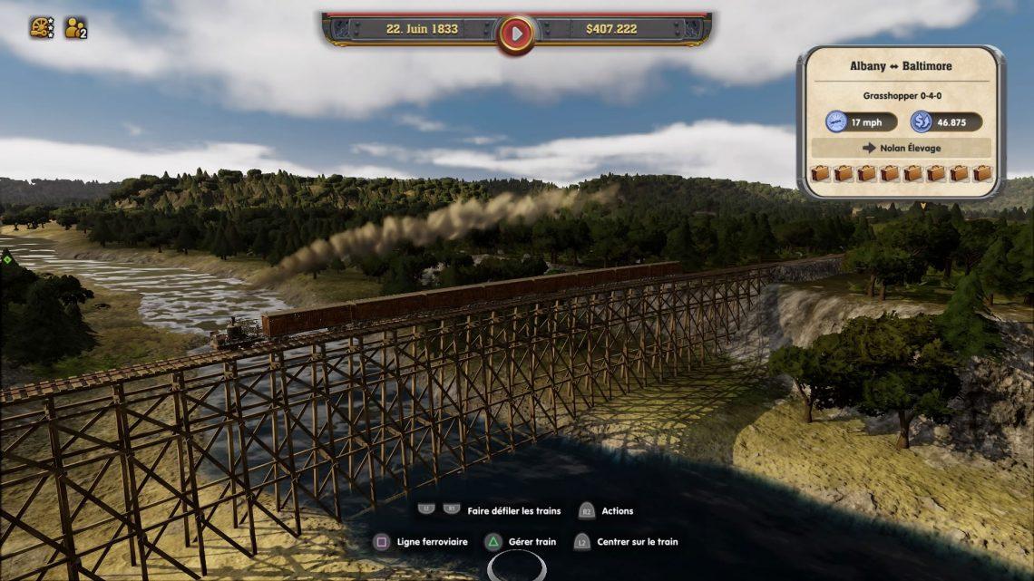 Railway Empire sur PS4