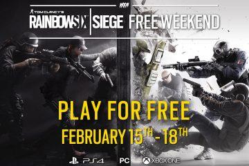 PlayStation 4 : Rainbow Six Siege gratuit sur PS4, PC et Xbox One.