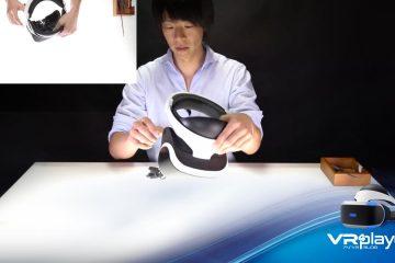 PlayStation VR : Les petits PLUS de VR4player – Le démontage du casque PSVR