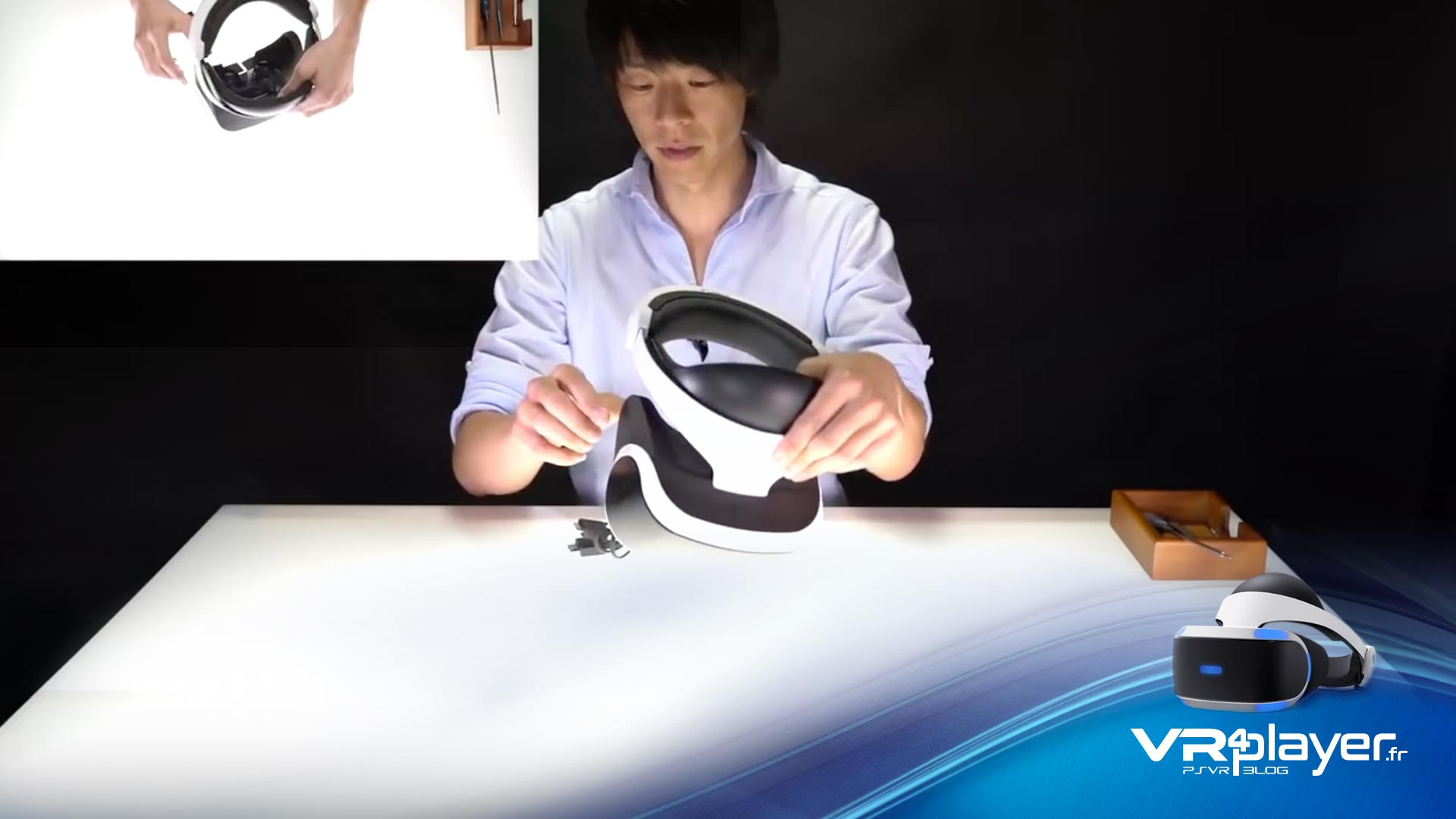 PlayStation VR : démontage