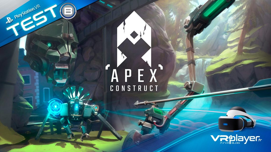Apex Construct Test Review VR4PLAYER PlayStation VR PSVR