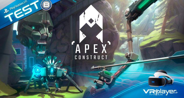 Apex Construct Test Review VR4PLAYER PlayStation VR PSVR
