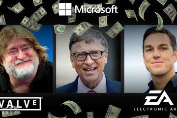 Le rachat de VALVE ou d'EA par Microsoft, une rumeur prompte à chambouler l'industrie du jeu et de la VR ?