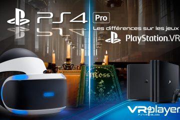 PlayStation VR : PS4, PS4 Pro, les différences sur les jeux PSVR
