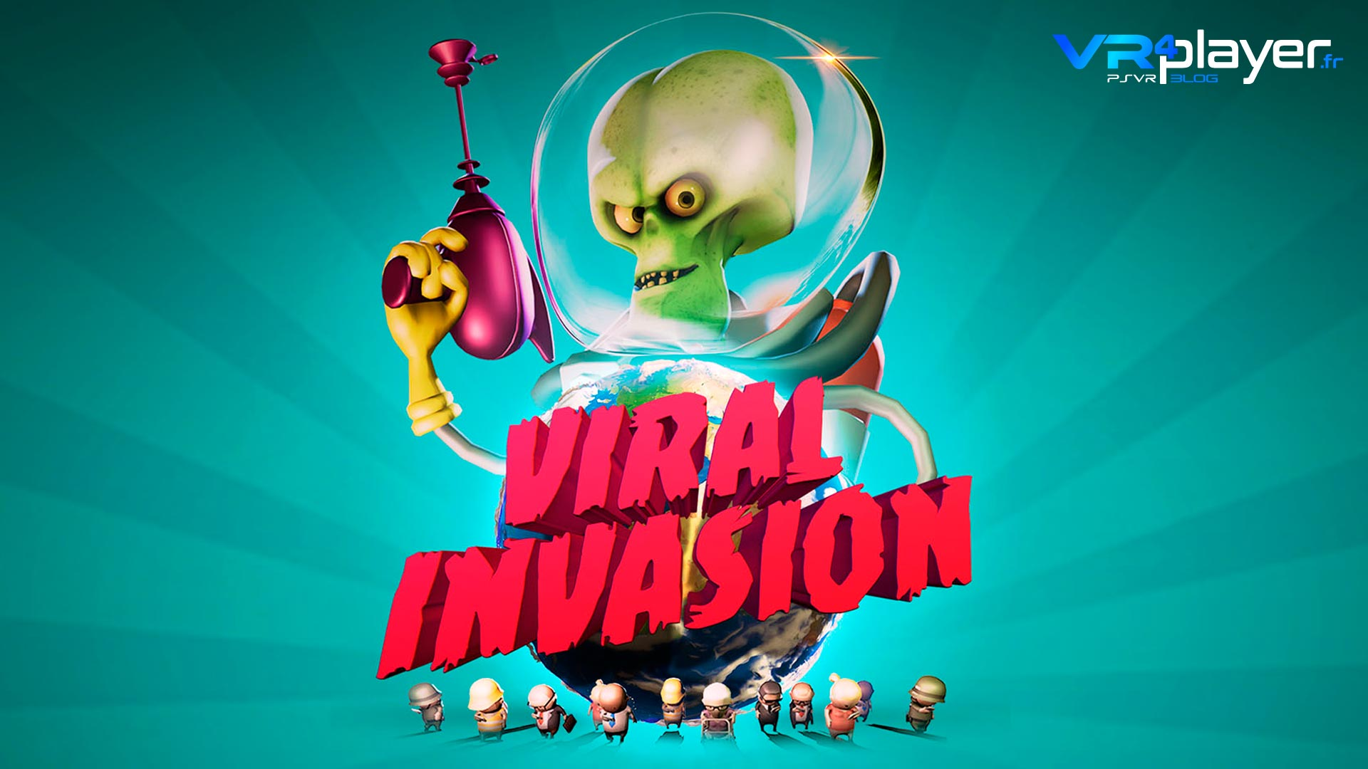 Viral Invasion VR4player PlayStation VR