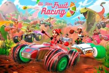 PS4, XBOX, Switch : All Star Fruit Racing un jeu de kart funky sur consoles