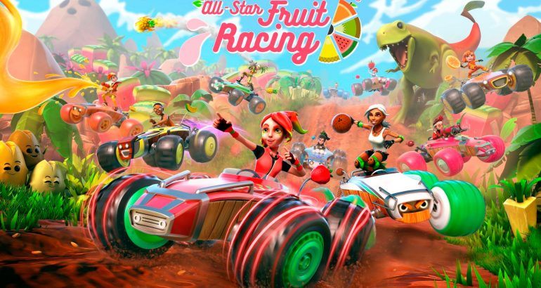 All Star Fruit Racing PS4 PS4 Pro