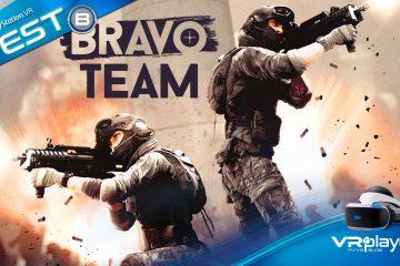 PlayStation vr, Bravo Team, Le test final et son mode Coop VR4player Review PSVR
