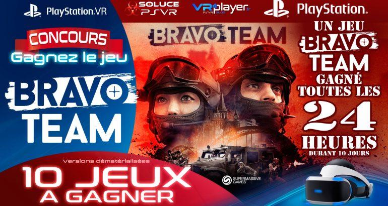 PlayStation VR Bravo Team Concours VR4Player