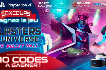 PlayStation VR : Concours, 10 Jeux PSVR Blasters of the universe à Gagner !