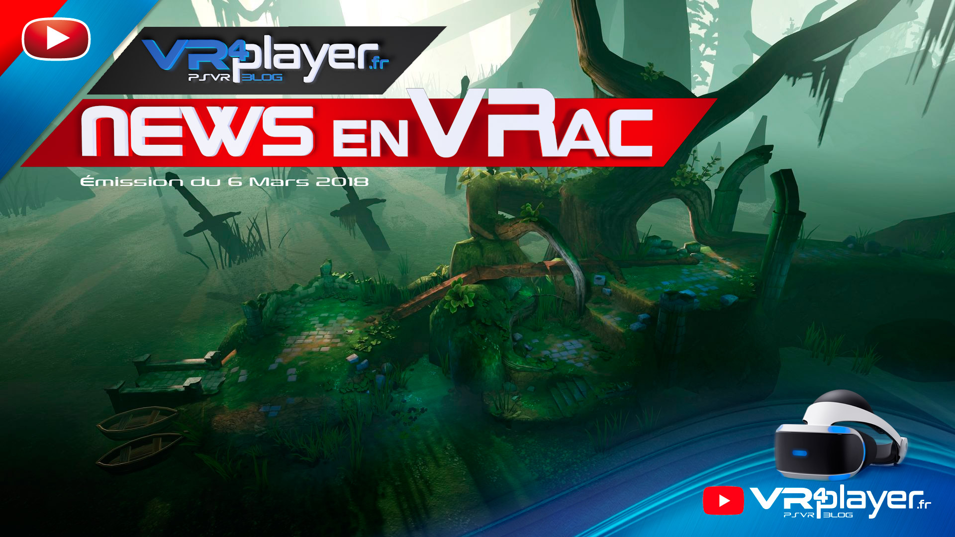 PlayStation VR : News en VRac, Breaking News VR4player.fr