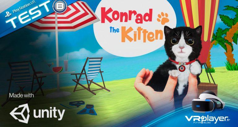 Konrad the Kitten VR4Player.fr Test