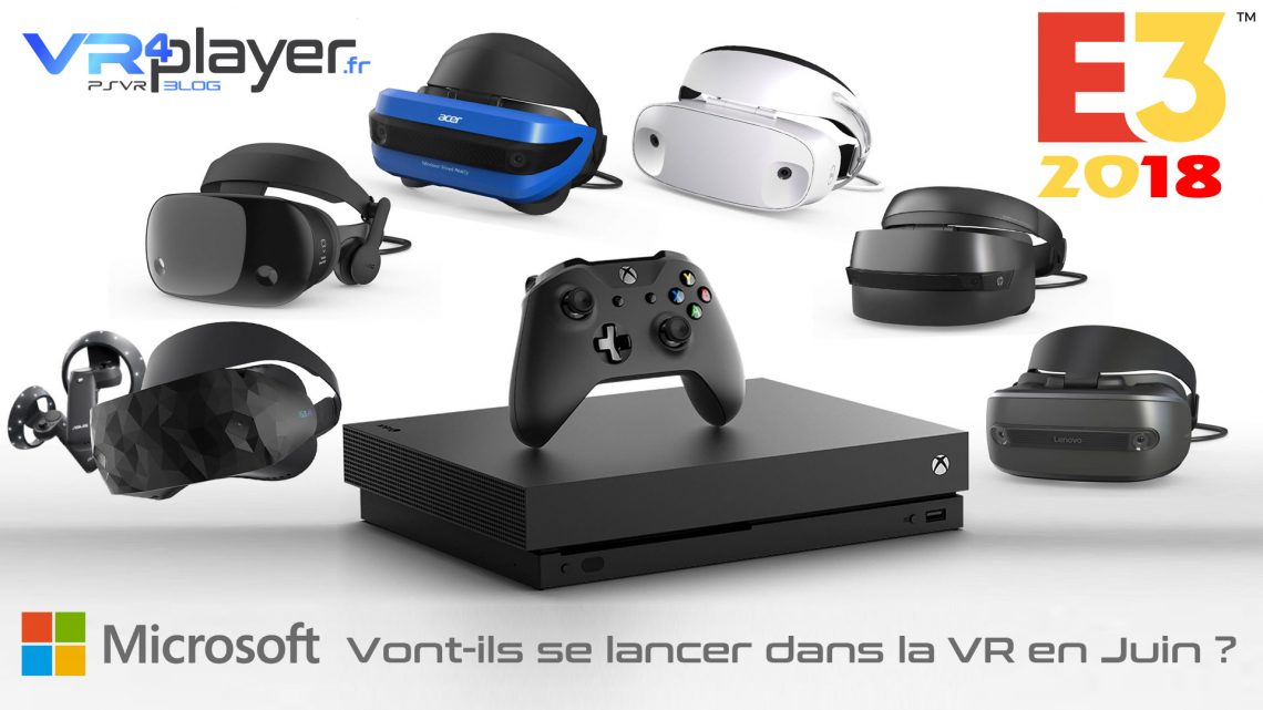 Microsoft VR E3 2018 VR4player