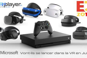 PlayStation VR, Sony : E3 2018, Microsoft vont-ils se lancer dans la VR en juin sur Xbox One X ?