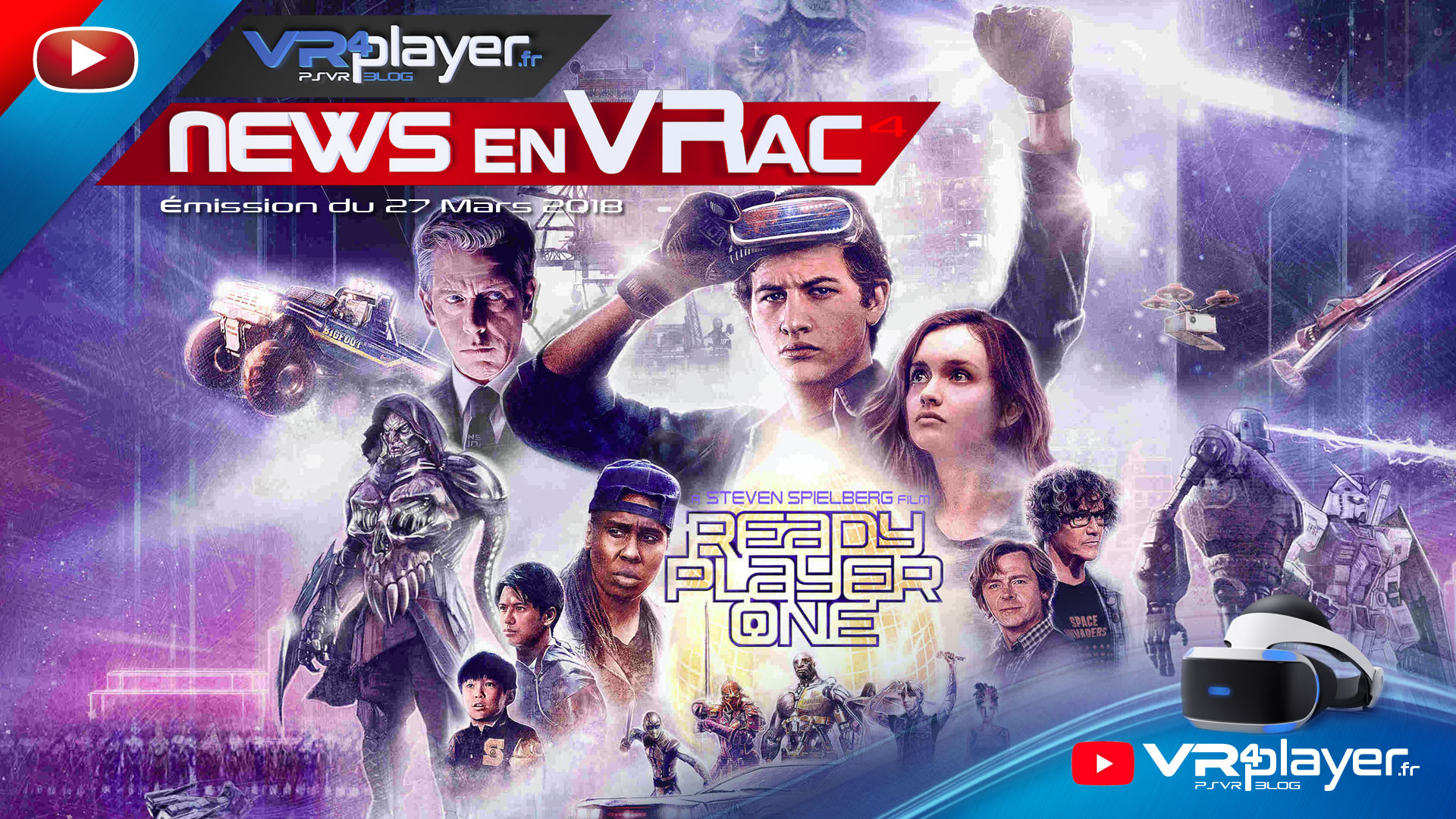 PlayStation VR Les News en VRac 27 mars 2018 VR4player.fr