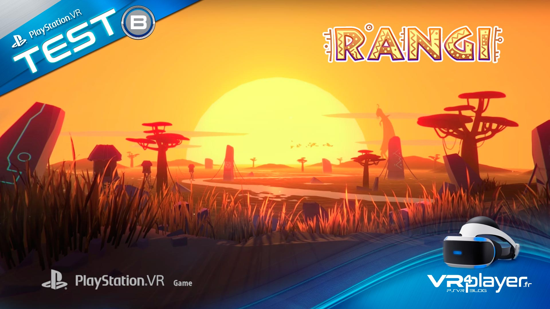 Rangi Sur PlayStation VR test Review