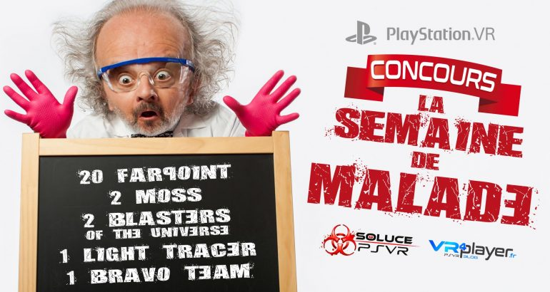 Les Concours PlayStation VR