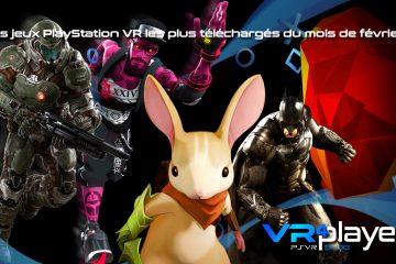 PlayStation VR : Les jeux les plus téléchargés de février sur PSVR