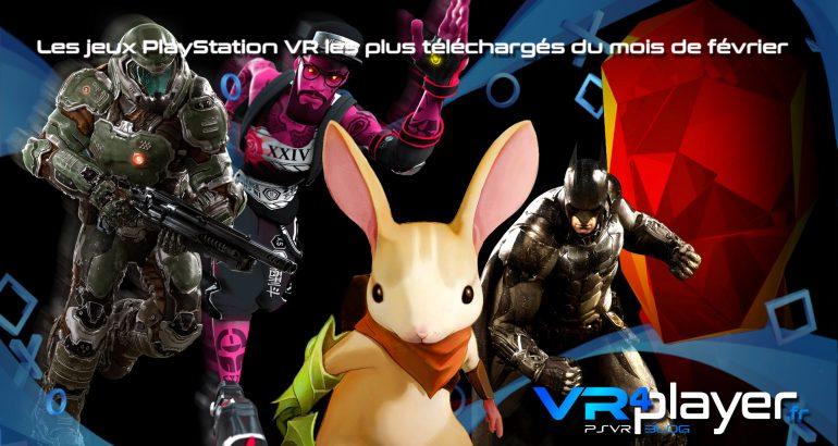 jeux PSVR téléchargés en février sur le Store vrplayer.fr