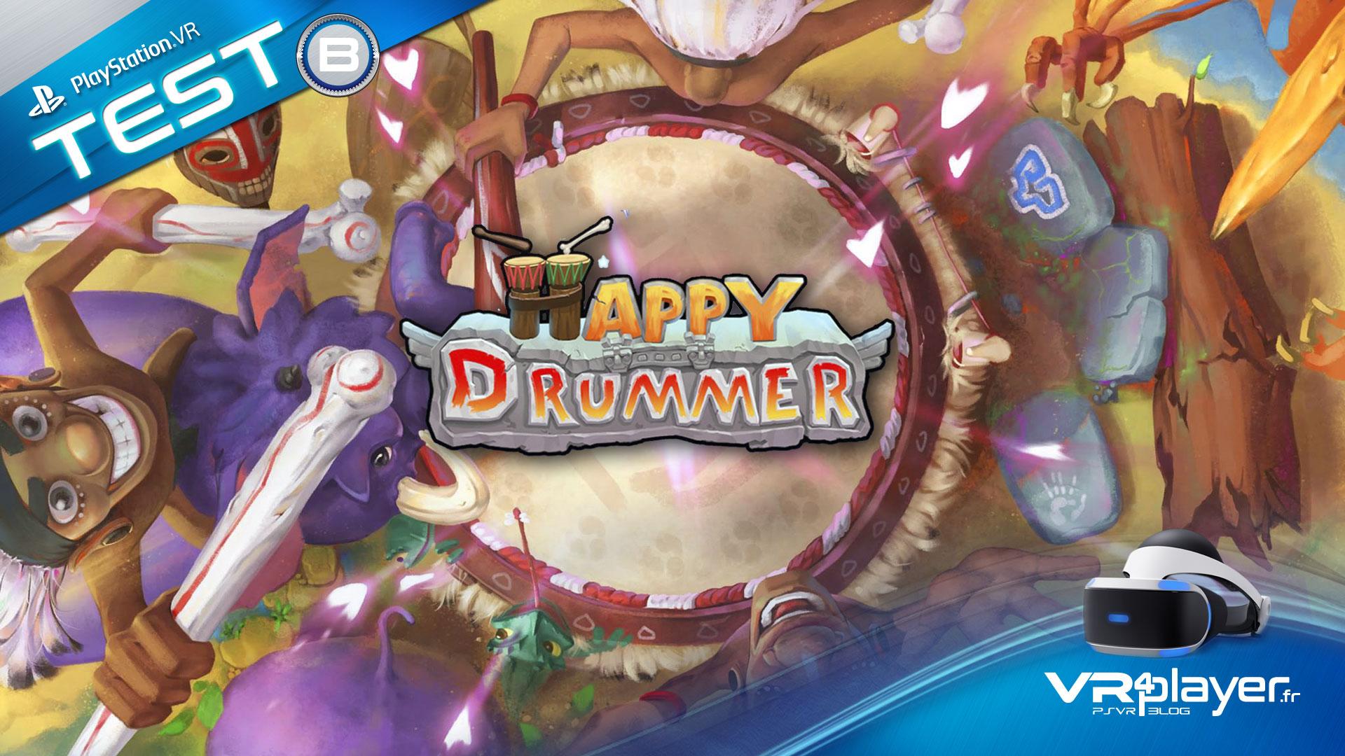Happy Drummer PSVR vrplayer.fr