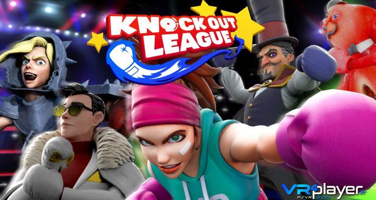 Knockout League PlayStation VR vrplayer.fr