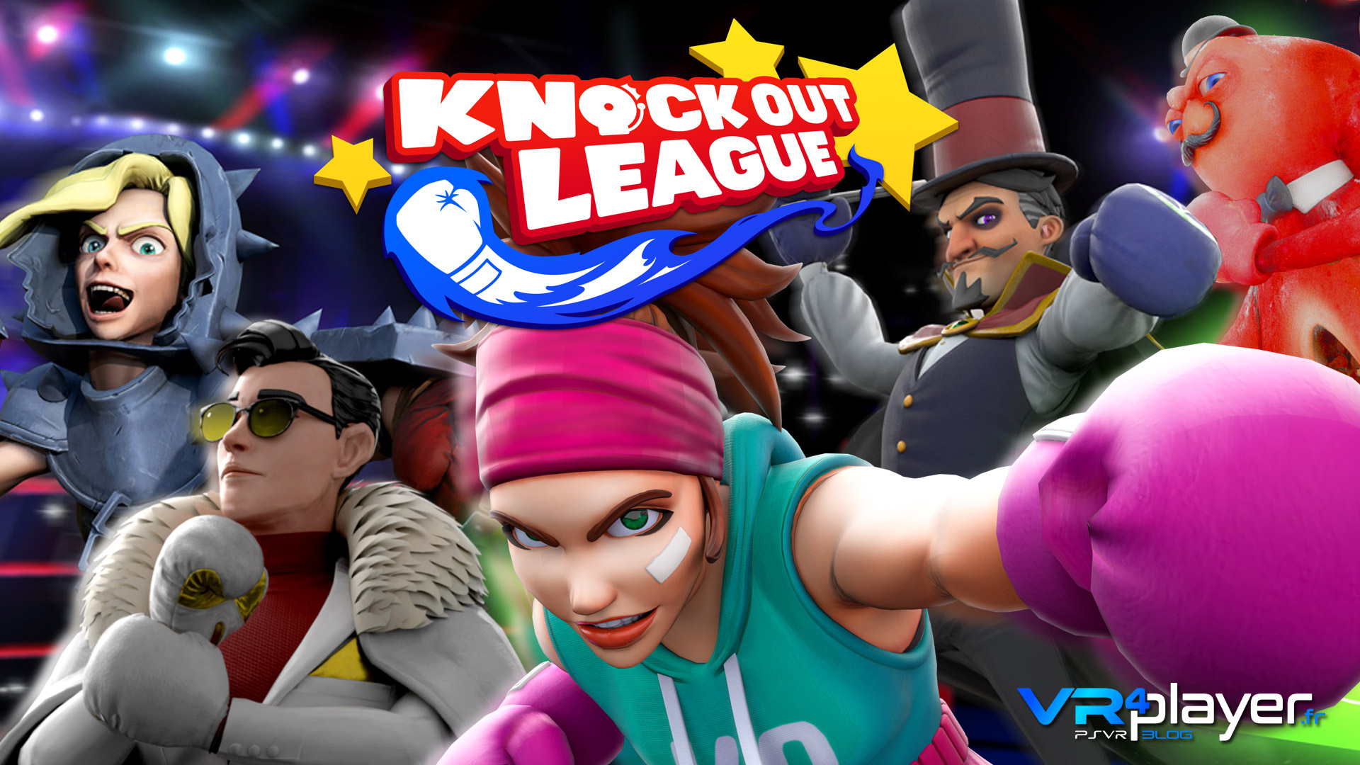 Knockout League PlayStation VR vrplayer.fr