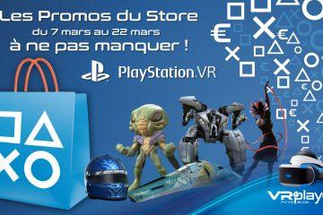 PlayStation VR : Les promos du mois de Mars, Wipeout à prix réduit