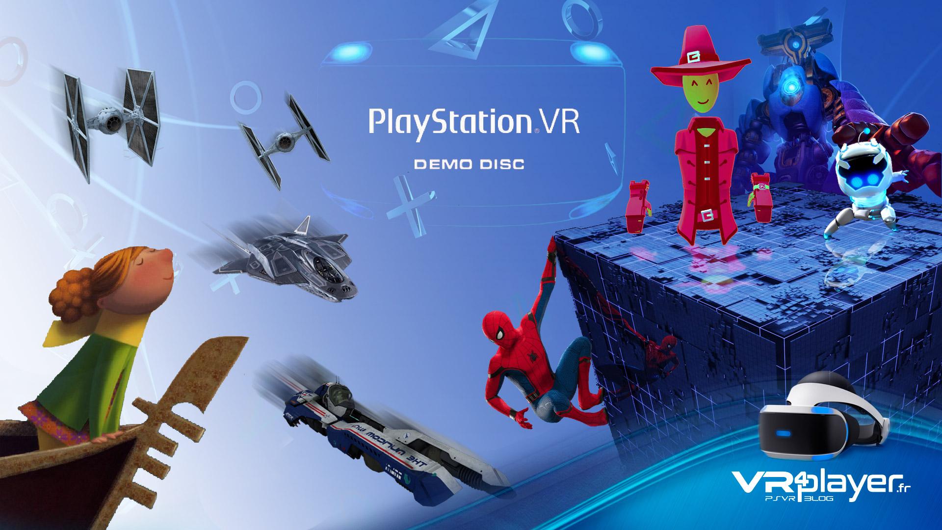Les jeux gratuits du PSVR VR4player