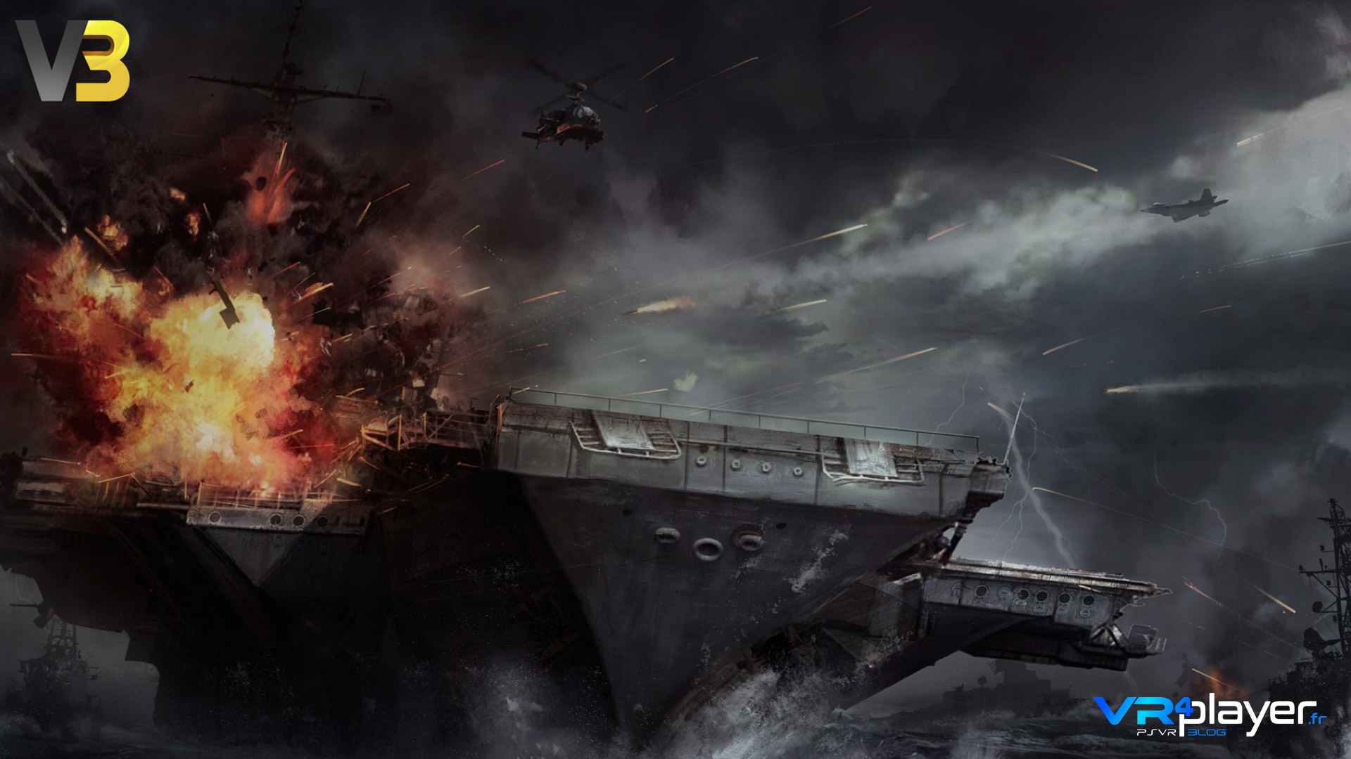 Victus Vincimus Veterans Revenge PSVR vrplayer.fr