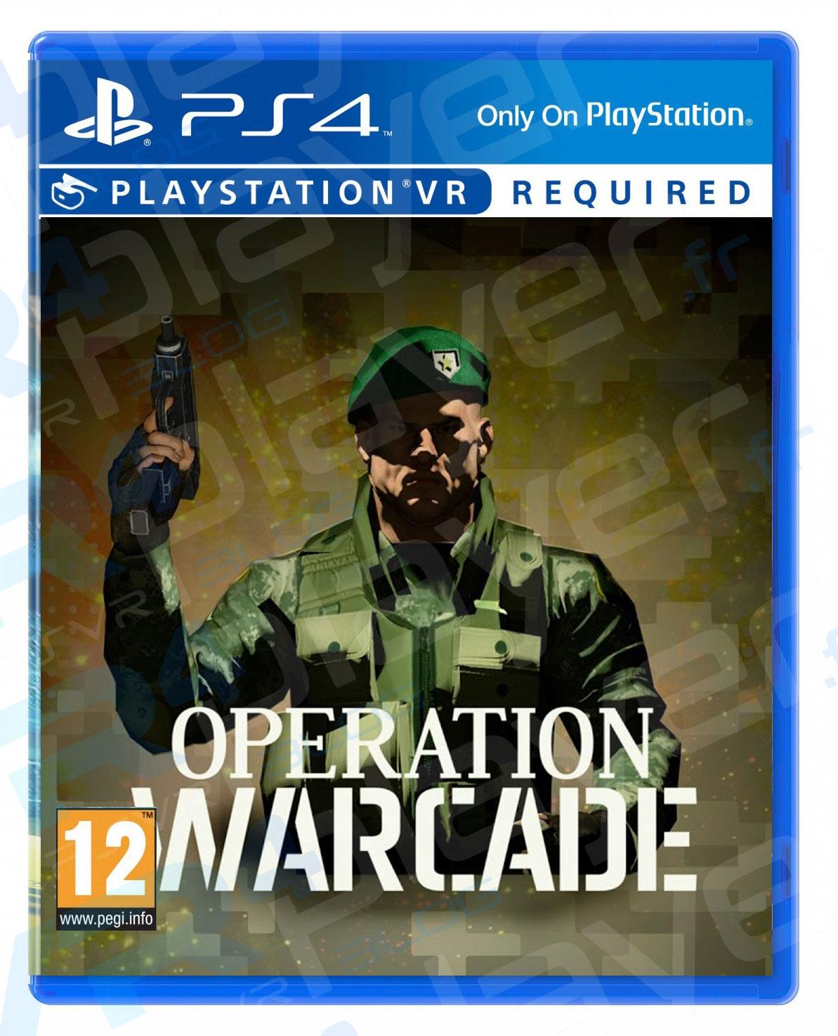 Operation WARCADE en boîte sur PSVR vrplayer.fr