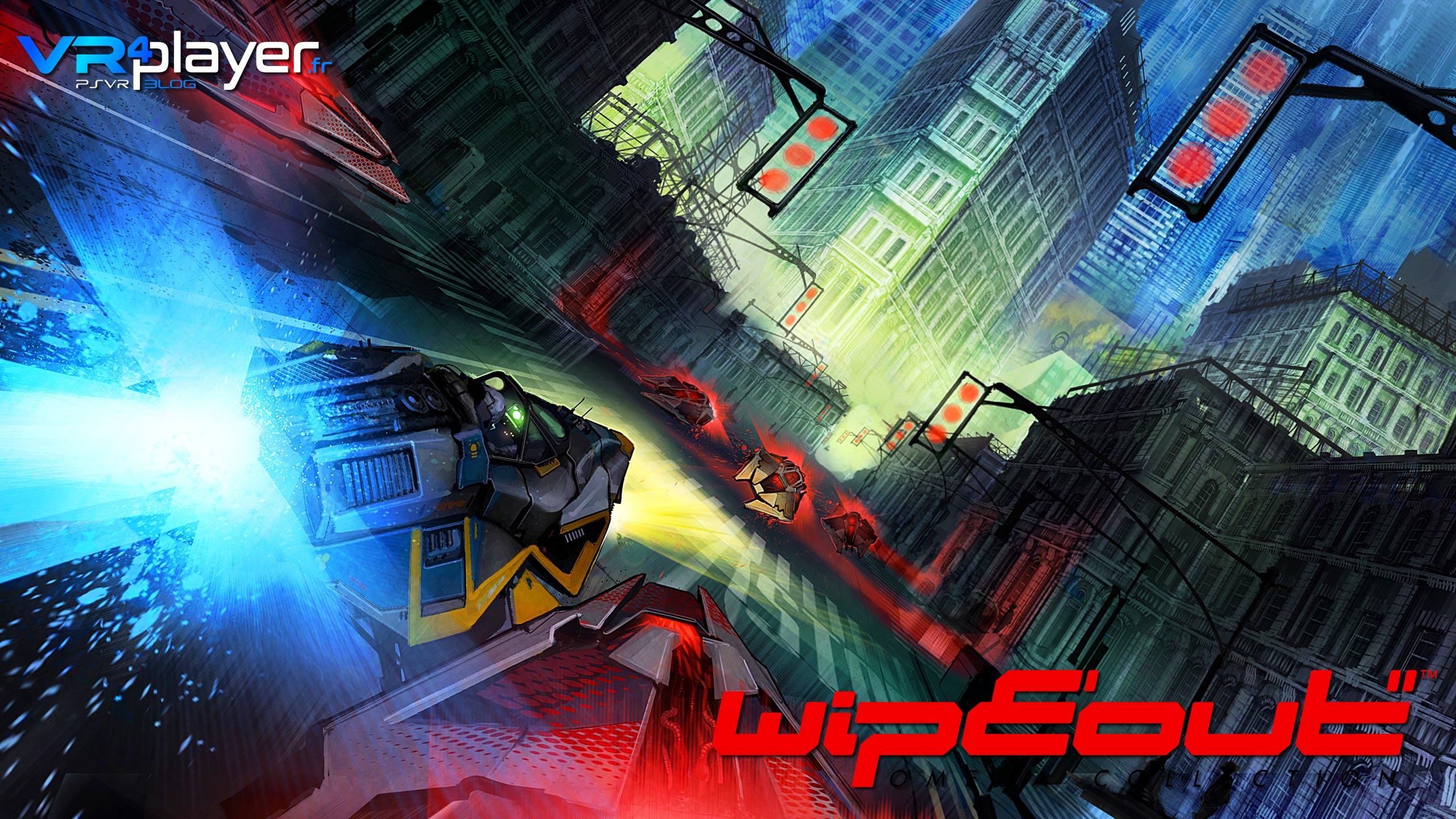 WipEout Omega Collection sur PSVR, le test vrplayer.fr