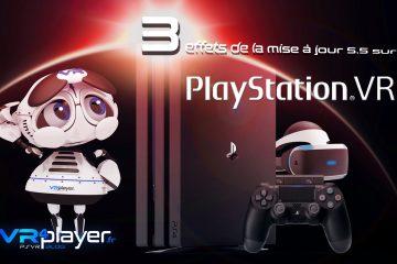 PlayStation VR : la mise à jour de la PS4 et ses effets sur le PSVR