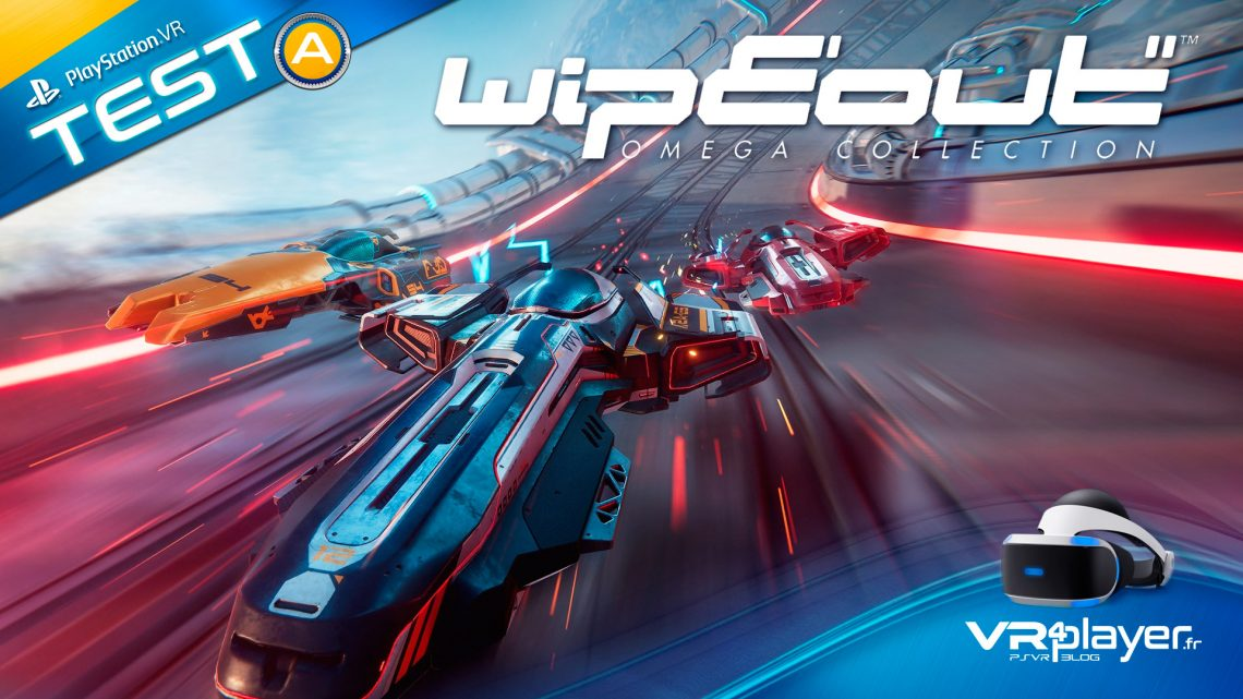 WipEout Omega Collection VR test Review VR4Player.fr
