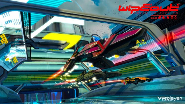Wipeout Omega Collection - PSVR - VR4player.fr