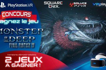 Concours PlayStation VR : Gagnez deux jeux Monster of the Deep sur PSVR
