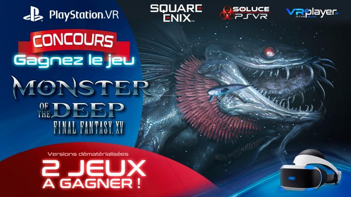 Concours VR4player Monster of the Deep Soluce PSVR