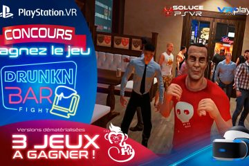 PlayStation VR, Drunkn Bar Fight Concours : 3 jeux à gagner, simple comme Bonjour !
