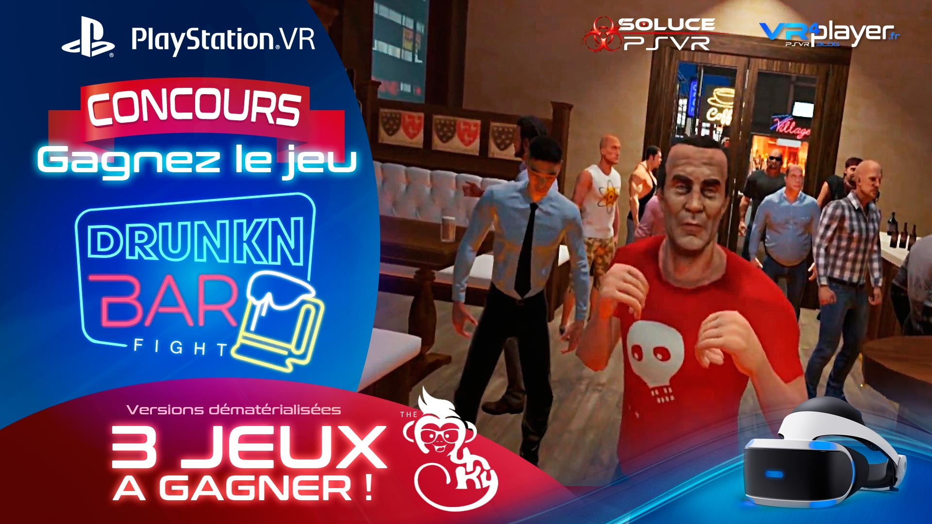 Drunkn Bar Fight Concours VR4player
