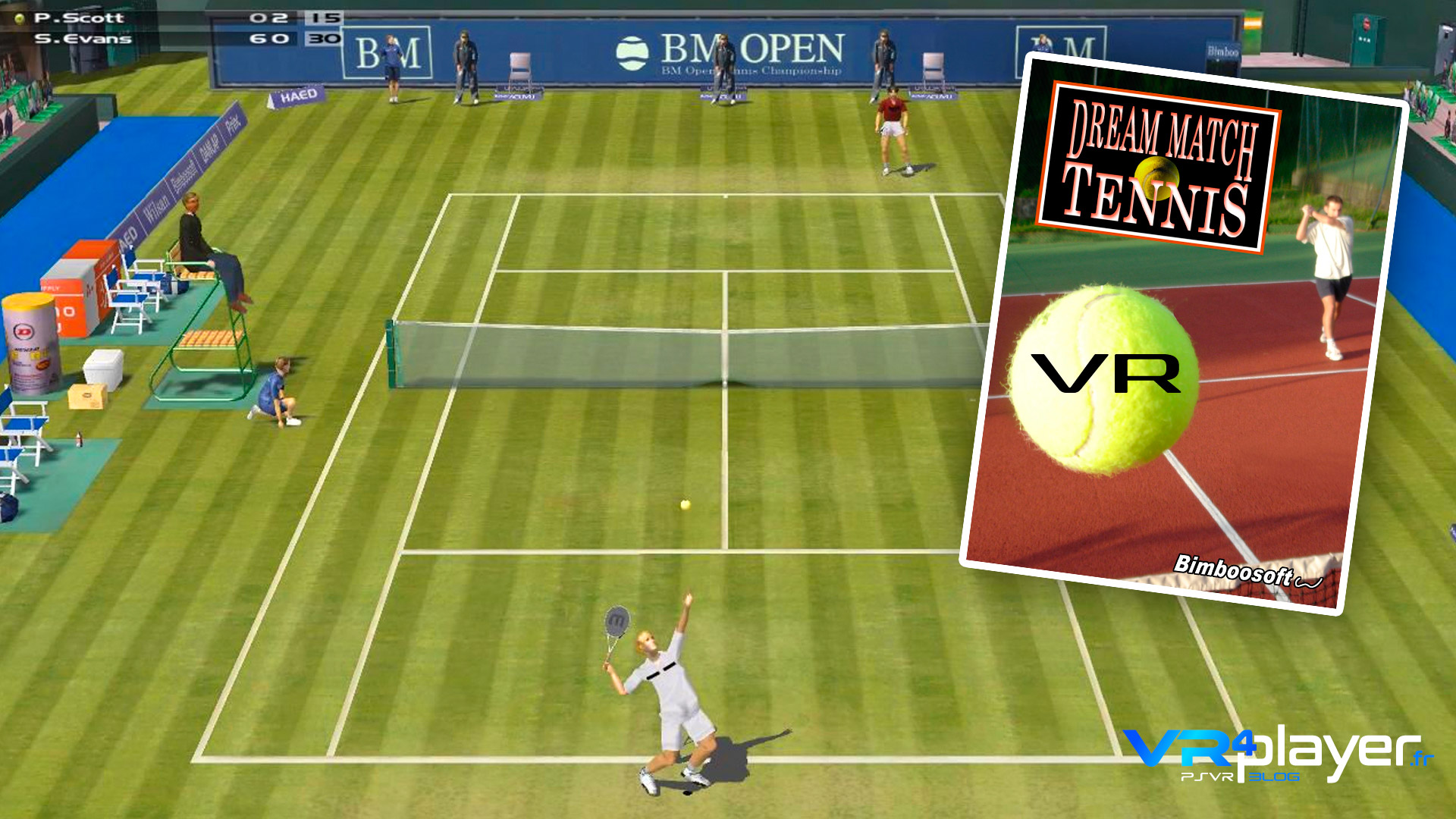 Dream Match Tennis VR VR4Player