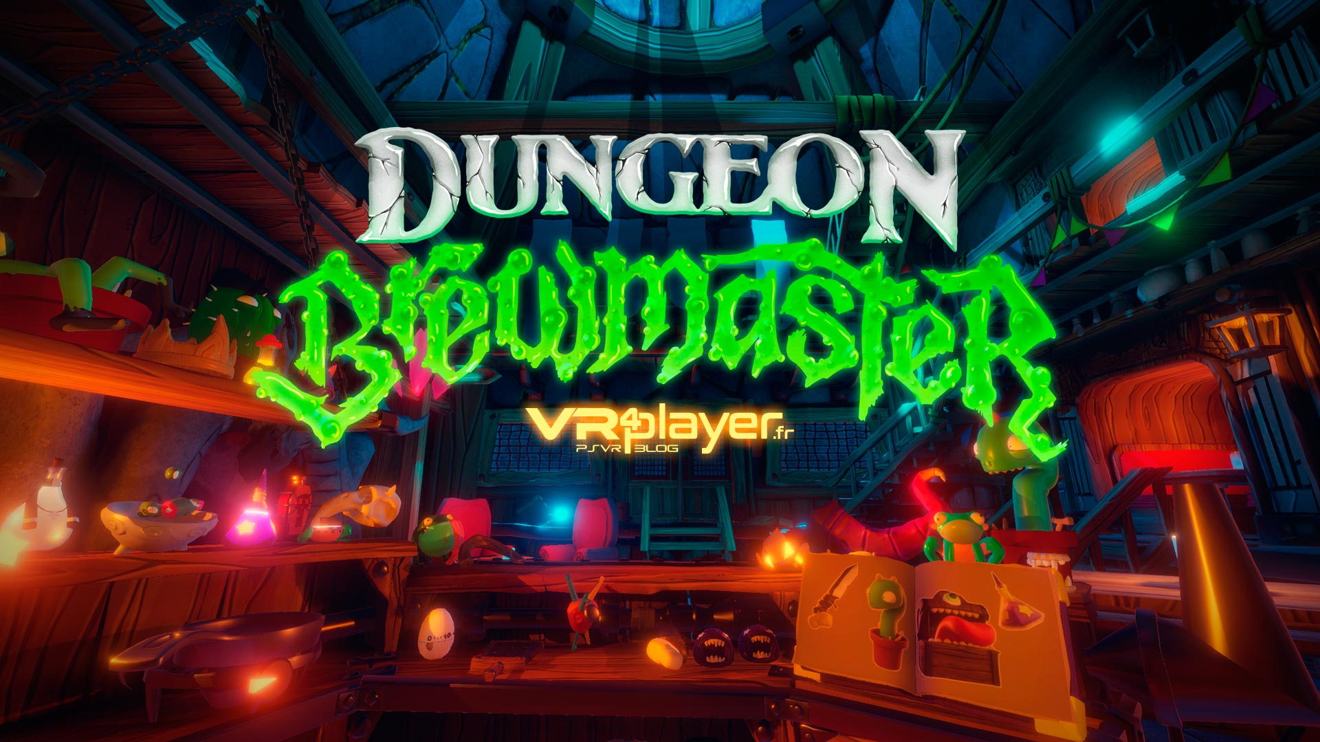 Dungeon Brewmaster PlayStation VR VR4Player