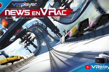 PlayStation VR : Les News en VRac de la semaine PSVR avec VR4player, Épisode 5