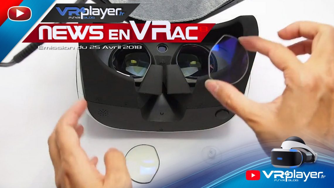 News en VRac PlayStation VR Les news de la semaine VR4Player.fr