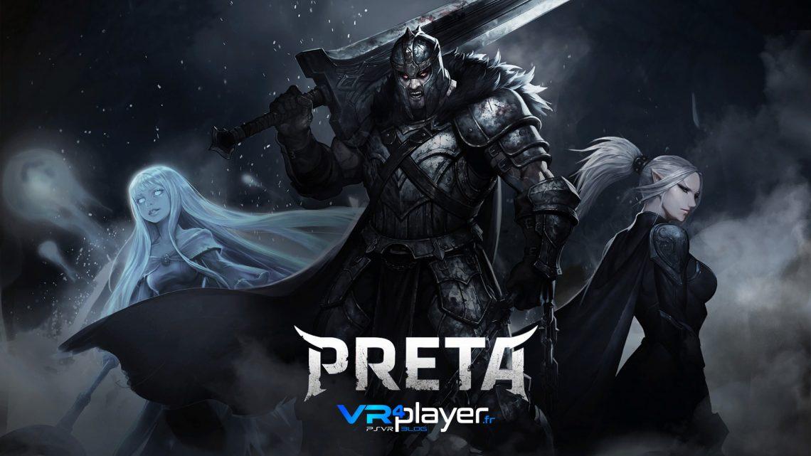 PRETA Vendetta Rising Illion Corp PlayStation VR PSVR